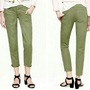 J Crew Cargo Scout Chino in Olive/Army Green